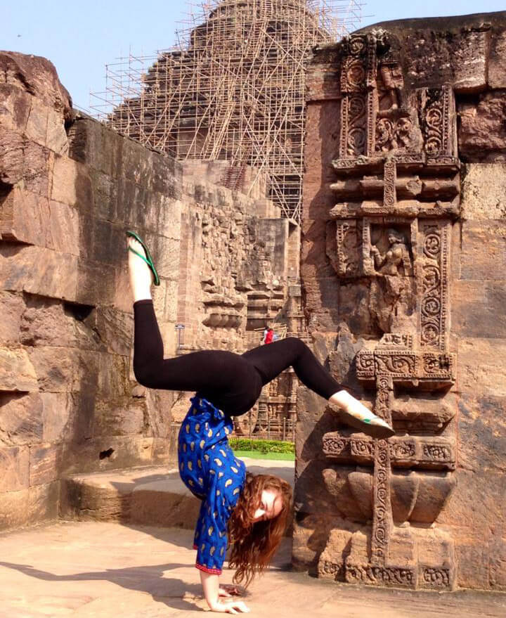 Orissa Kelly at Konark Temple Odisha