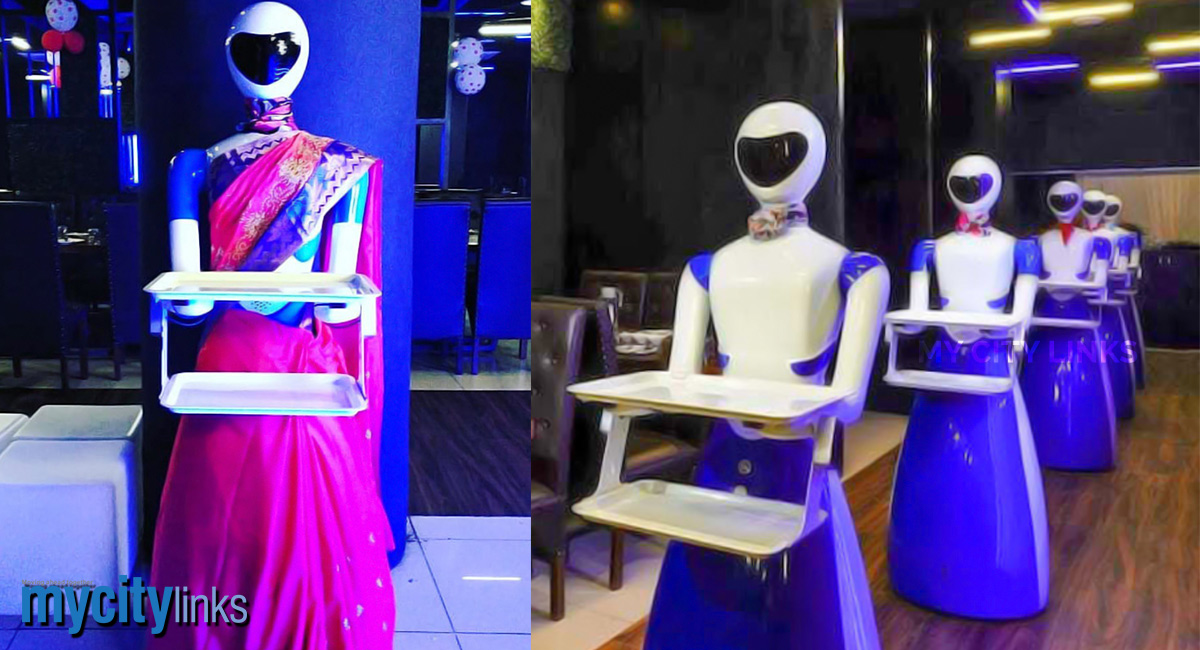 Sci-fi Becomes A Reality In City's Robot Restaurant – My City Links